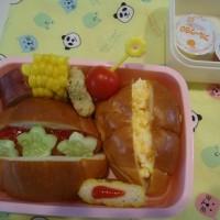回鍋肉の晩御飯&今日の幼稚園のお弁当