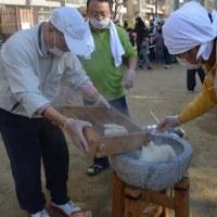 平野南・餅つき大会~加美・室内オリンピック