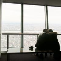 【写真】東京スカイツリーの外国人カップル