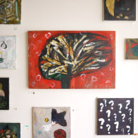 近藤晃美さんの展覧会「円い草」、無事終了致しました。