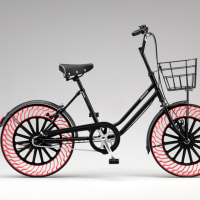 ブリヂストン、パンクしない自転車タイヤ開発中!