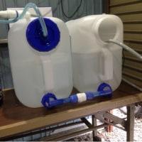 アウトドアでの温水シャワーシステム(運転・性能)