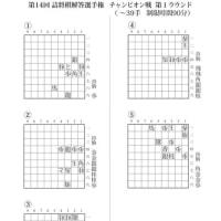 第14回詰将棋解答選手権 チャンピオン戦 第1ラウンド出題作品