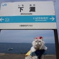 下灘駅 (白雪姫の服を着たウルフ)