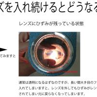 横浜大口 糸川メガネのメガネづくり。       レンズ加工時のひずみを見る器機.2