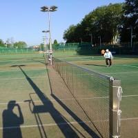 20170618記録(kata54)、朝テニス(北見シグマテニスクラブ)