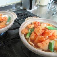 朝夕が冷えてきて、さて『チゲ鍋』には何を合わせたか?