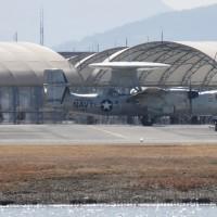 2017年・航空フォト(米海兵隊岩国航空基地)その30 E-2C・E-2D