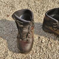 タカ長の登山靴