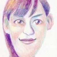 「超簡単」綾瀬はるか「色鉛筆での塗り方」(似顔絵塾)
