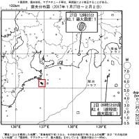 今週のまとめ - 『東海地域の週間地震活動概況(No.5)』など