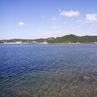きれいな淡路島の海