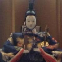 雛人形を飾った