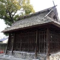 茅葺の神社