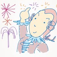 宇奈月温泉冬の花火は1月から3月まで毎週土曜日開催