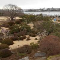 囲碁と水戸偕楽園 好文亭 からの景色