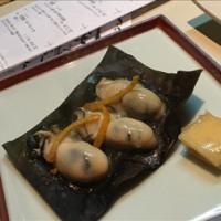 牡蠣の昆布焼き
