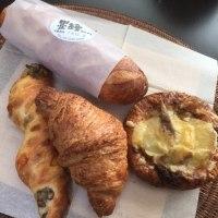 新宿「墨の絵」のパンたち