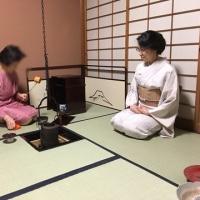 東京物語(お茶のお稽古に飛び入り)その3