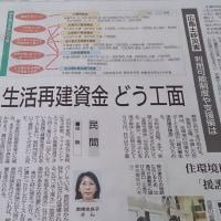 9月2日中国新聞に高橋佳良子の災害時に必要な保険等の知識が掲載されました