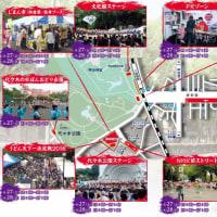 「2016/08/27::東京原宿スーパーよさこい(チームわげもん名義)とみあり、かおる参加」