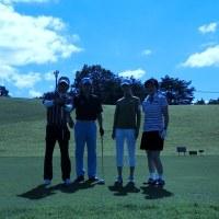 ゴルフに行きました