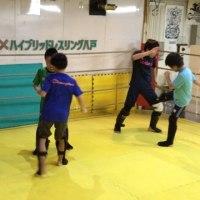 10/25夜のキッズ打撃クラスの風景