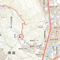 藻岩山スキー場尾根コースのGPSトラック
