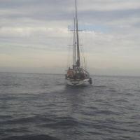 パパラギ号出航です