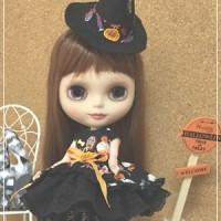 ブライス★ハロウィンのドレス&コーディロイワンピースセット