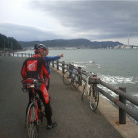 輪行で「加太・砲台跡」に行ってきました!
