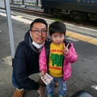 日曜日は電車で舞鶴市