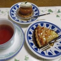 りんごのケーキ 2品 ( ラ・ローザンヌのケーキ )