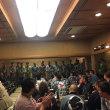 東部十二ヶ町連合会の直会に出席しました。
