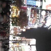 夜な渋谷〜三鷹いしはら食堂からの輪島ジム