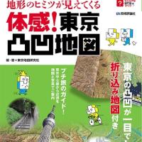 「体感!東京凸凹地図」絶賛販売中!