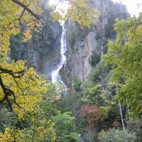 北海道の滝「層雲峡・夫婦滝」