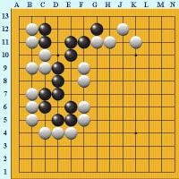 囲碁死活869官子譜
