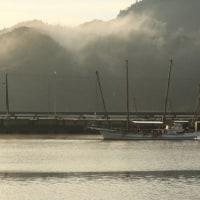 計石港の朝