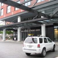 ジョンズ・ホプキンス・アウトペイシャント・センター(外来センター正門)