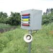 農地の作物は警報器で侵入禁止