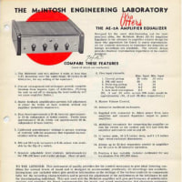 McIntosh AE-2 について