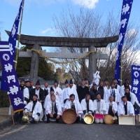 2017年1月22日師走祭り最終日(下りまし)
