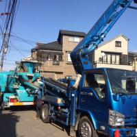 国分寺市内木造3階建てアパート付住宅新築工事の現場報告