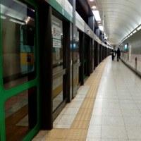 南北線の永田町駅着いた