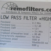 LowBandSystems(RemoteFilters) 160m LPF