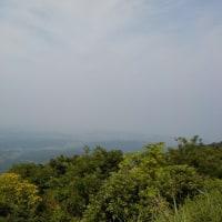 「米山」に還暦祝い登山