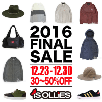 "2016 FINAL SALE ""30~50%OFF""TBPR DORCUS BRIXTON ADIDAS AREth...etc"