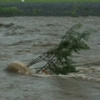 お盆、大雨そして大文字の送り火  8月14日ー16日