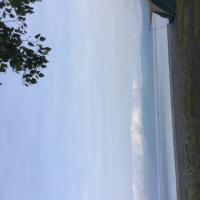 支笏湖でキャンプ